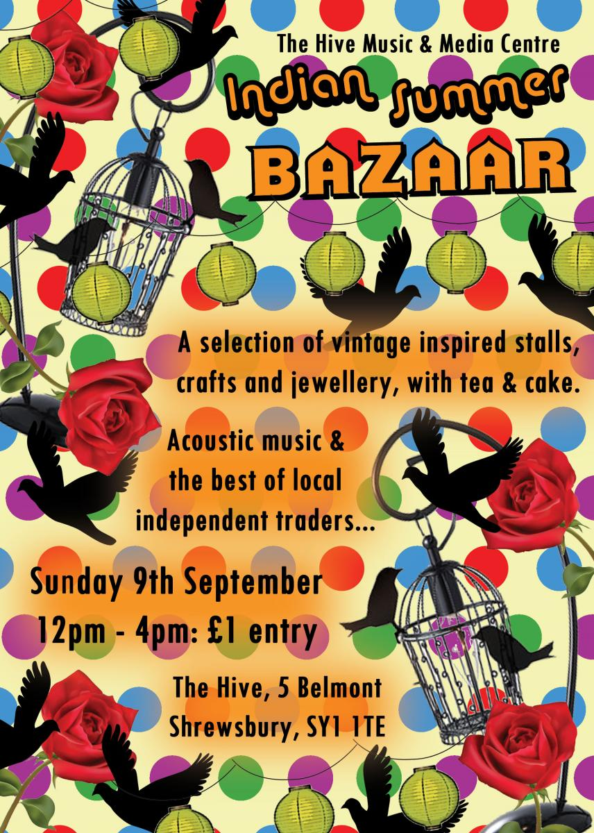 Shrewsbury vintage craft bazaar and fair
