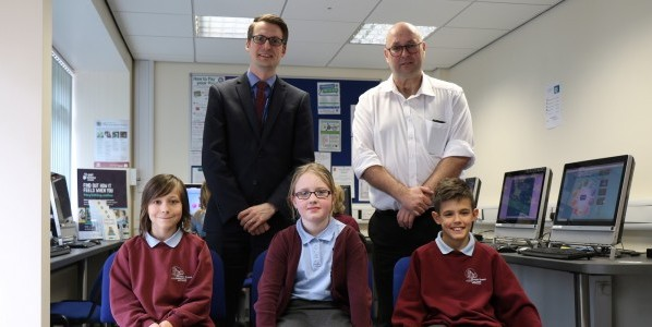 Head visits pupils at motivational homework club