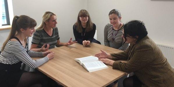 University Centre Shrewsbuyr reading group