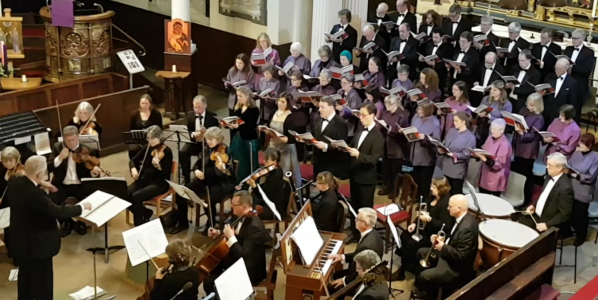 Review: The Phoenix Singers delights audience at St Chad's Church Shrewsbury 26.11.2016