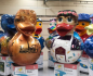 a collection of all the giant ducks that were on display in Ironbridge and Southwater