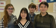 Successful Mathematicians - Georgie Bumpus, April Qian, Thomas Hilbert, Simba Ding