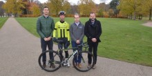 From left to right - Chris Pook, of Cooper Green Pooks, Liam Holohan, of Holohan Coaching, Bryan Davies of Unvented Components Europe and Ben Lawrence, of independent chartered insurance brokers Beaumont Lawrence.