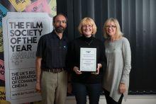 Shrewsbury Film Society win award