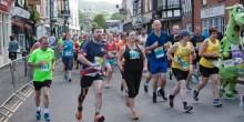 Photo taken by David Woodfield of Ludlow 10 race