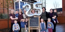 Staff at ABC Day Nursery in Telford are celebrating 25 years in business