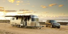 Airtsream 684 International travel trailer review