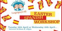 Easter Spanish workshops with Bright Owls language experts
