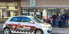 Kevin Williams from Zoom 1hr at the Tettenhall Co-op