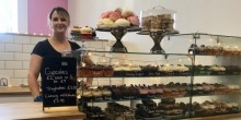 Crystal Owen at her new shop in The Parade