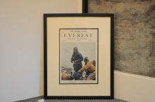 Original Times supplement from 1953, documenting the first ascent of Mount Everest