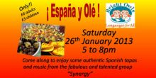 Espana Y Ole Spanish event with Bright Owls