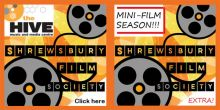 Cinema in Shrewsbury with film society at Hive venue
