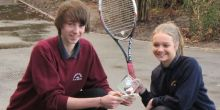 Thomas Adams School pupils represent Shropshire at UK tennis finals
