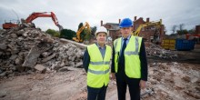Matthew Hill Head of Development at Connexus Housing Group and Floreat Homes Peter Brown Group Chief Executive at Connexus Housing Group