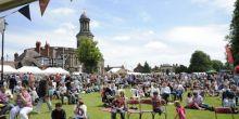 Shrewsbury Food Festival in the picturesque Quarry park