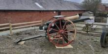 WWI 18-pounder Artillery Gun