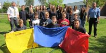 A team of staff and students from Thomas Adams take on charity challenge