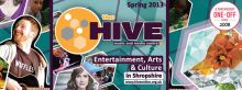 Easter events at the Hive in Shrewsbury