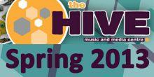 Hive 2013 spring arts programme for Shrewsbury