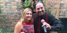Lisa Snape from the Best Western Valley Hotel in Ironbridge with Paul Roberts who have joined forces to organise the 'Zaktastic' variety show to raise funds for Zak Oliver.