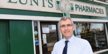 Ian Swindell of Lunts Pharmacies says Christmas falling on a Monday means there is even less time to sort medication