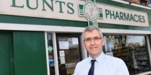 Ian Swindell of Lunts Pharmacies is urging people to get their flu jab