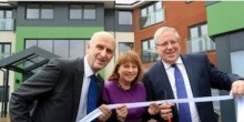 Jean Jarvis at the opening of The Longford Centre in Cannock