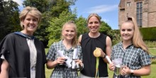 Olympic hockey champion Kate-Richardson Walsh is special guest at Adcote School Speech Day