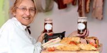 Staff at G. N. Badley & Sons butchers in Telford celebrate National Picnic Week