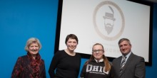 Anna Sutton, Isabel Thomas, Katie McPartland and Robin Morris