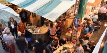 Saturday late nights, Shrewsbury Market Hall, food and drink