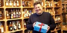Mike Hale, proprietor of Wrekin Whiskies on Wyle Cop