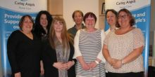 The team at Caring Angels in Shrewsbury celebrate their CQC registration