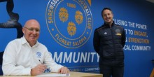 Pipekit underlines local commitment with Shrewsbury Town in the Community signing