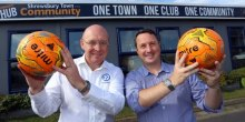 Pipekit Signs Up to Support Shrewsbury Town in the Community