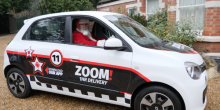 Santa considers upgrading his delivery service