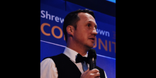 Jamie Edwards, CEO of Shrewsbury Town in the Community