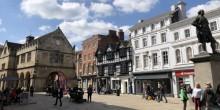 The Square in Shrewsbury