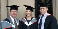 Shrewsbury College degree award ceremony