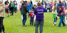 A volunteer for Shropshire Festivals