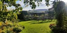 The Castle Hotel garden