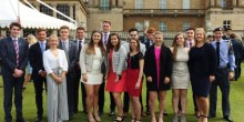 Students from Ellesmere College were presented with DUke of Edinburgh awards at Buckingham Palace