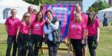 The Shropshire Festivals team with Jean-Christophe Novelli