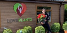 Love Plants' manager Tim Robinson getting ready to reopen tomorrow.