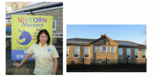 Unicorn Day Nursery, owned by Louise Batham-Willmore, will open at the former Maesbury Primary School next year