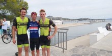 Photo L- R- Chris Pook, Liam Holohan and Matthew Davies.