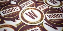 Wood Brewery beer mats