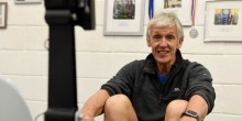 Jim Mostyn of Gym Mostyn based at Wrekin College in Telford
