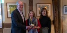 Philip Robinson Financial champagne prize winner